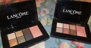 Lancome 2 palettes bundle Blush and eyeshadows